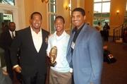 Rashard Causey AYFL MVP with Me and Jonah