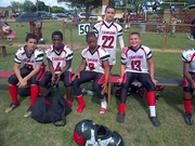 Tamiami Colts 13U Starters enjoy second half from the bench!