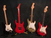 Four Schlegel Guitars