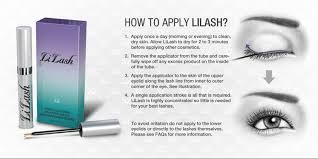 how to apply lilash