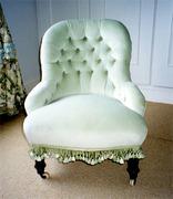 Petticoat Iron Frame Chair