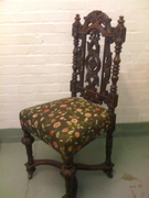 Victorian Oak chair