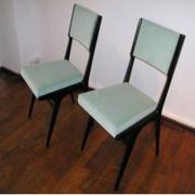 Carlo-di-Carli Turquoise chairs