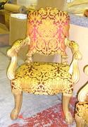 17th c English Gilt Chair