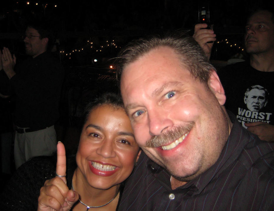 Ralph Paglia with wife Dr. Elizabeth Archuleta