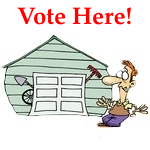 ** VOTE HERE 'Garage Challenge'