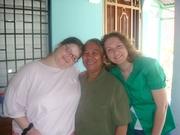 Me Rachelle and Rosa