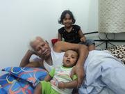 sarah, joshua and my dad