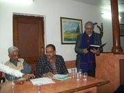 प्रगतिशील लेखक संघ, इलाहाबाद द्वारा आयोजित समारोह में काव्य-पाठ : 25 जनवरी 2012