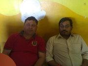 Preetam Tiwary & Rajeev bhai in Ranchi