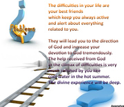 Difficulties are your Best Friends !!