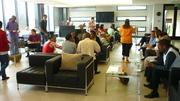Seminar delegates: Tea break