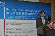 Leslie Chan, Univesrity of Toronto Scarborough, at Berlin8, Beijing Oct. 25, 2010