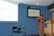 Prof Hussein Suleman from the University of Cape Town