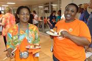 Una Mgwenya and Sindy Hlabangwane