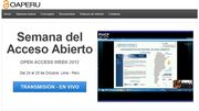 Open Access Peru - Videostreaming