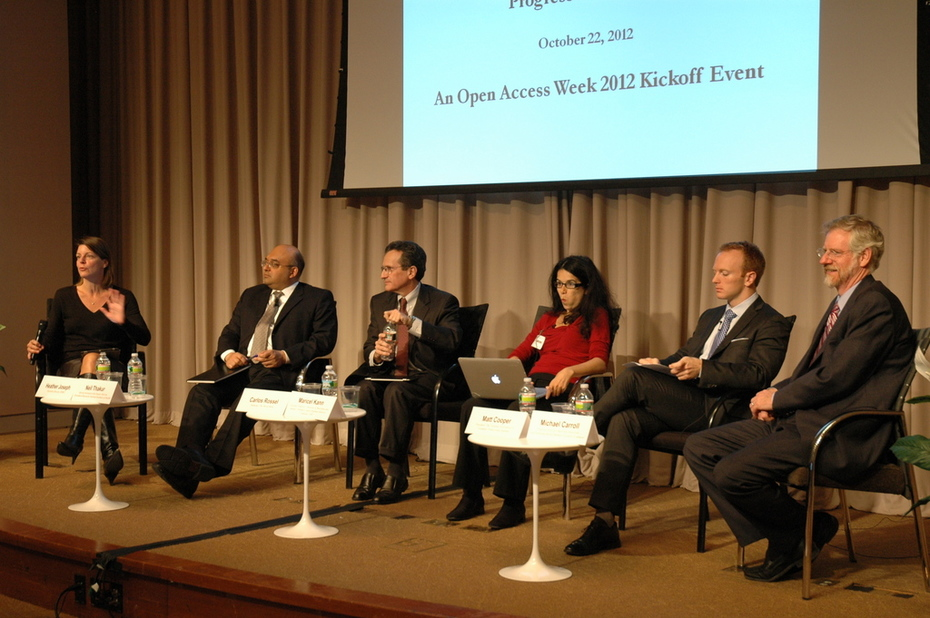 SPARC / World Bank OA 2012 Kick Off (1)