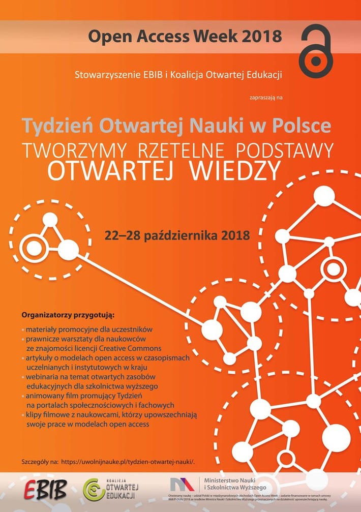 Polish Poster for OAW 2018