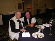 Me with Stan Krippner, Saybrook Conference