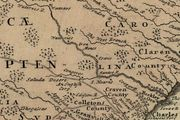 Cartography Maps High Shoals 1757-1865