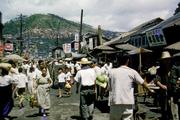 0071 On way to down town  Pusan Korea 1952