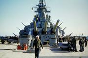 0138 USS Missouri Deck Scene