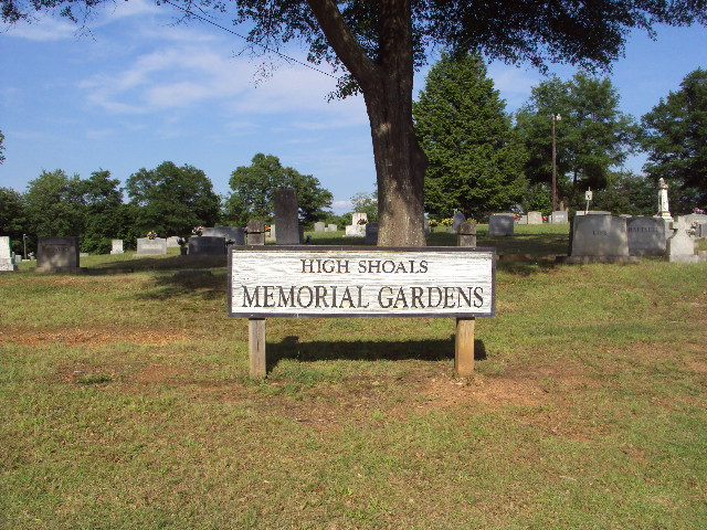 High Shoals Cemetery