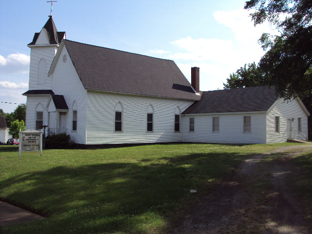 The Methodist church in High Shoals