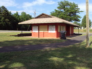 The new concession stand for ball field