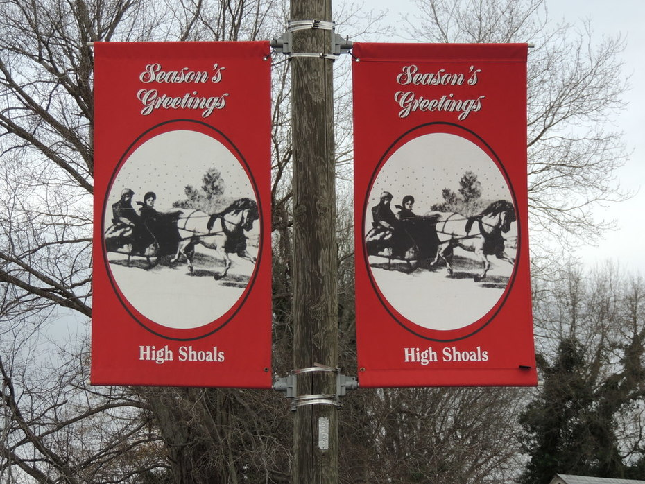 Welcome to an old time High Shoals greeting!