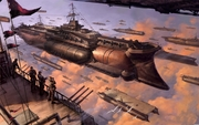 Airship Battle Royale
