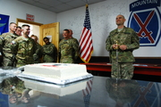 Old Man ready to cut the cake with my NCO Sword