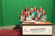 Troop 83 Scout Day at Vegas PBS