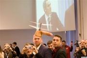 Garry Kasparov attacked by flying dildo