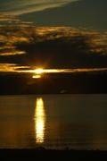 Sunset - Home, WA (New Years Day 2011)