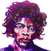 Hendrix portrait