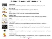 Celebrate Marriage Diversity!