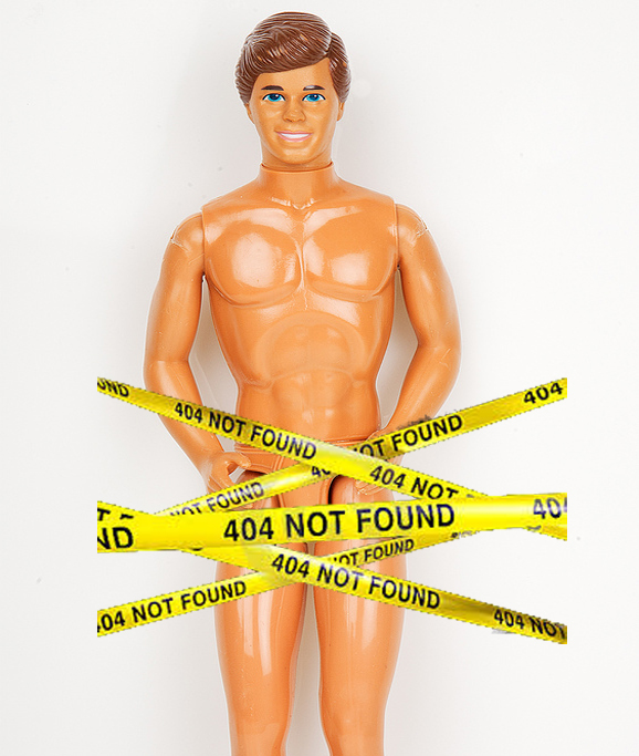Ken: Error 404 - Genitals Not Found