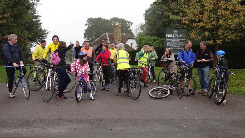 Firle Cycle Path Celebration Ride