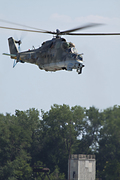 Mi-24 Hind in flight 2