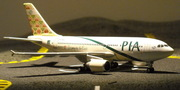 PIA Airbus A310 Gateway to the East Peshawar