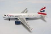 1:400 British Airways A319 by GeminiJets