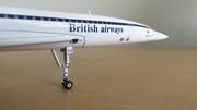 British Airways - Singapore Airlines Concorde G-BOAD 1/200