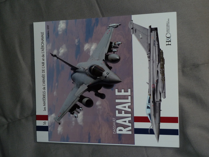Dassault RAFALE, by Frederic LERT, H&C Publ.