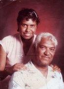 Rhubee Neale and Dad Jack Neale