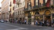 Via del Coros, Rome, Italy