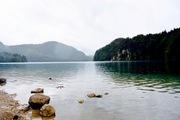 Lake in Schwangau, Germany