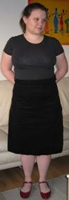 cordoury-skirt