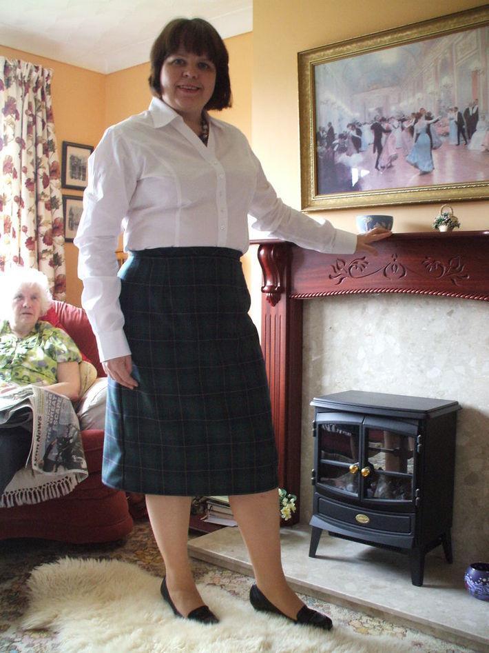 Smart Suit Skirt