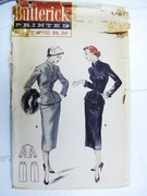 Vintage Butterick Suit Pattern